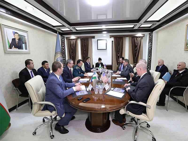 НЦБ Интерпола США посетило ГУВД г. Ташкента