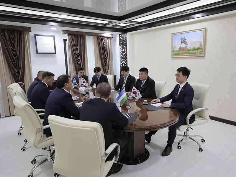 Тошкент шаҳар ИИББга Корея Республикаси Миллий полиция агентлиги делегацияси ташриф буюрди