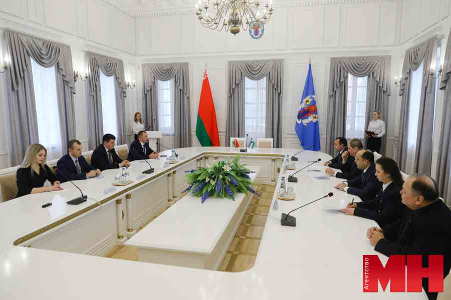 Начальники ГУВД Минска и Ташкента подписали меморандум о взаимопонимании