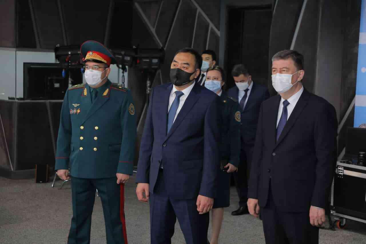 Қирғизистон Республикаси ИИВ делегацияси Тошкент шаҳар ИИББга ташриф буюрди