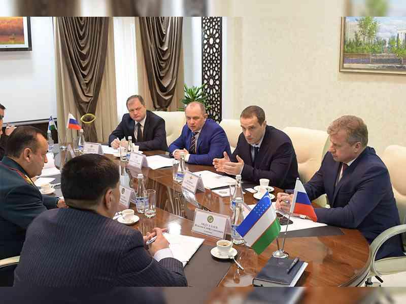 ГУВД Ташкента посетила делегация Главного управления МВД России по городу Москве